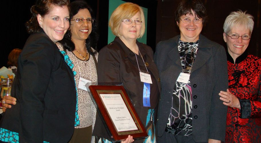RNAO in The Workplace Award 2009